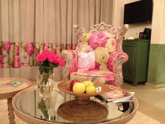 Tigmiza - Suites & Pavillons : Notre salon
