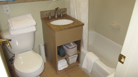 Ramada New York/Eastside: Bagno stanza 1006 particolare