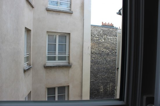 Hotel le Senat: View from our window