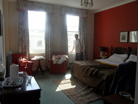 The Green Dragon: Our room