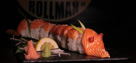 Rollman Sushi: Red Dragon Roll