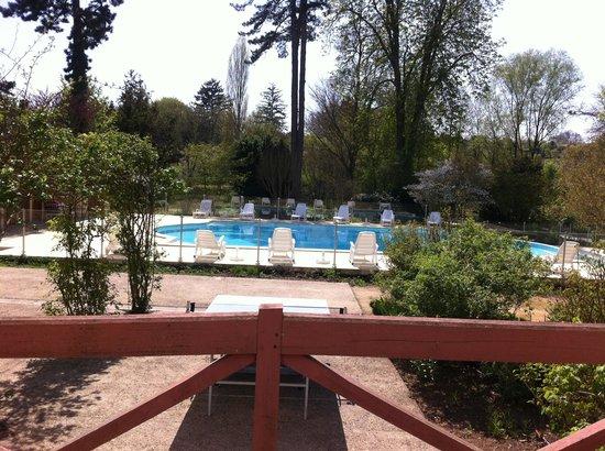 Les Loges du Parc: La piscine