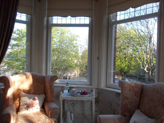 April House: Room 2 with large bay window