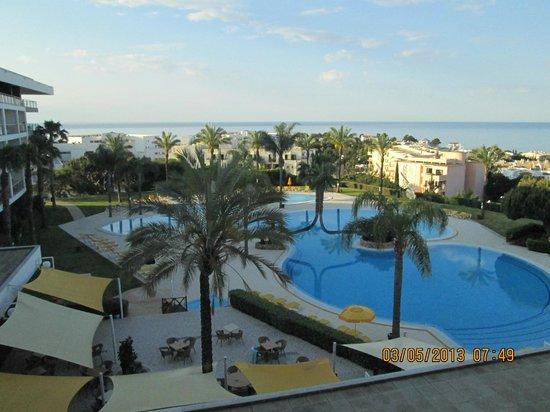 Alfagar Alto da Colina: main pool from our room