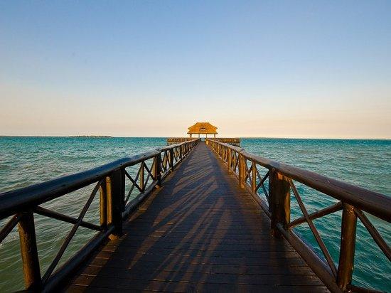 Hotel White Sands - The Beach Resort: Pweza Jetty
