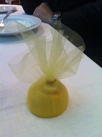 Al Gufo Bianco: un elegantissimo limone