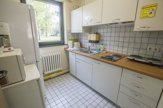 Air Hostel: Küche