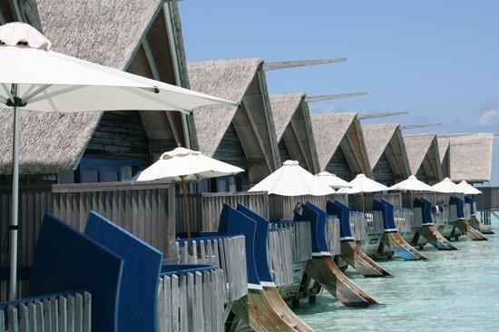 Cocoa Island by COMO : Zicht op zee