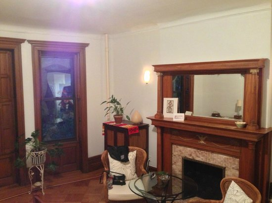 Easyliving-harlem : Vue de la chambre du 1er etage
