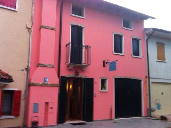 B&B Old Venice: Opvallend pand in de straat