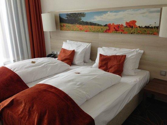 H4 Hotel Münster City Center: Schlafbereich.