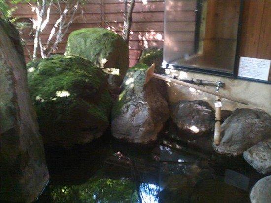 Sabitei Shosen : 部屋の露天風呂