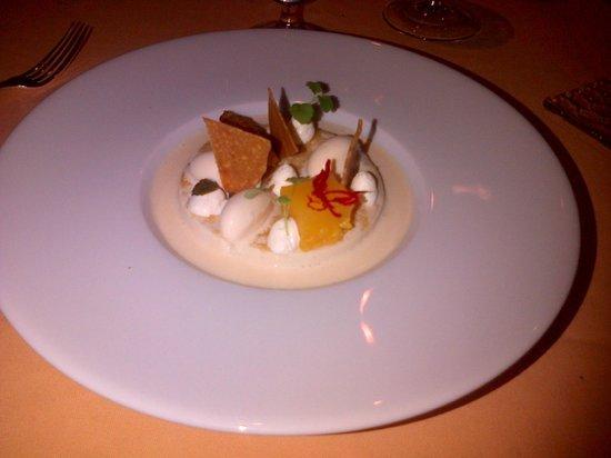 Domaine des Hauts de Loire : dessert 1