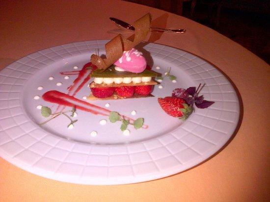 Domaine des Hauts de Loire : dessert 2