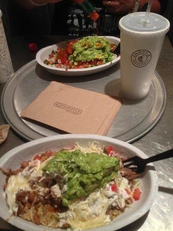 Chipotle Mexican Grill: Poulet