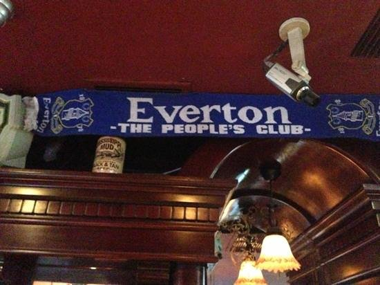 The North Shield Pub : One of many international football scarves