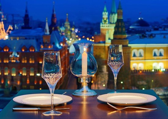 The Ritz-Carlton, Moscow: O2 Lounge Romantic Dinning
