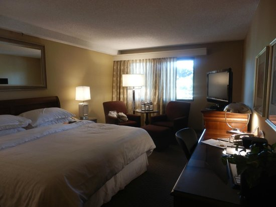 Sheraton Palo Alto Hotel: Room 2047