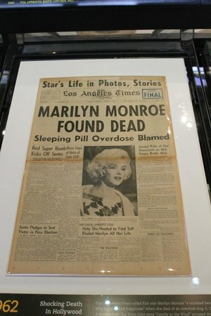 Museum Berita Newseum: Marilyn Monroe