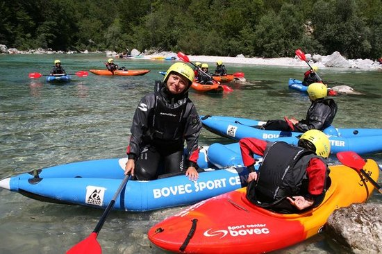 Bovec Sport Center : Kayak descent