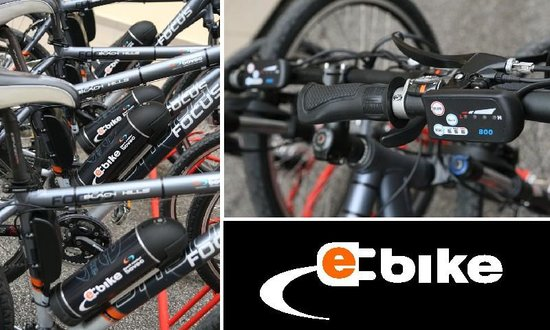 Bovec Sport Center : Hybrid electric bicycle, for a new dimension of cycling