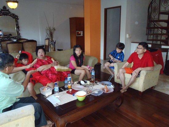 Anahata Villas & Spa Resort : Family Room