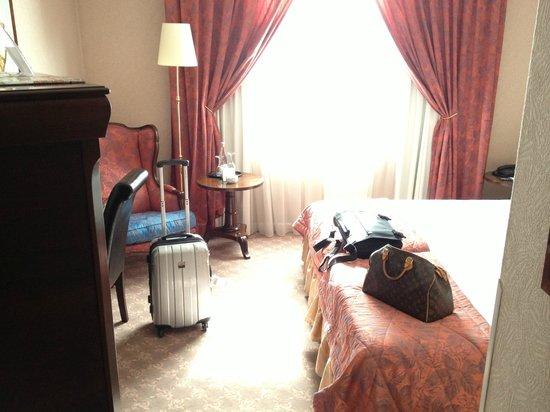 Savigny Hotel Frankfurt City Messe: My Derrick room !