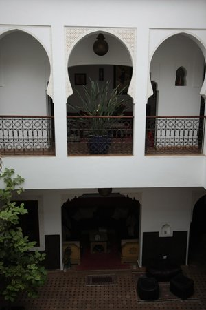 Riad Charme d'Orient: Inside of the Riad