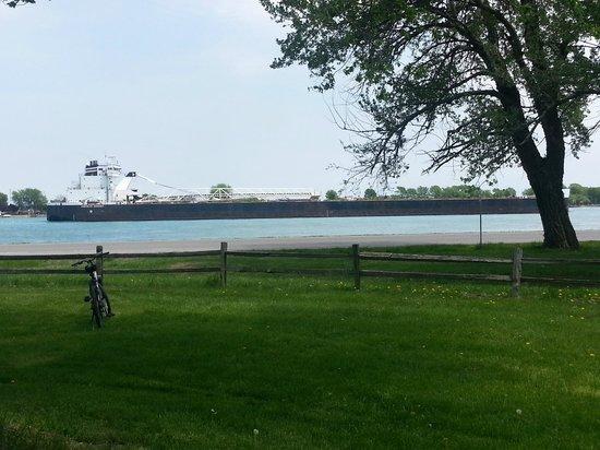 Marine City, MI: Freighter