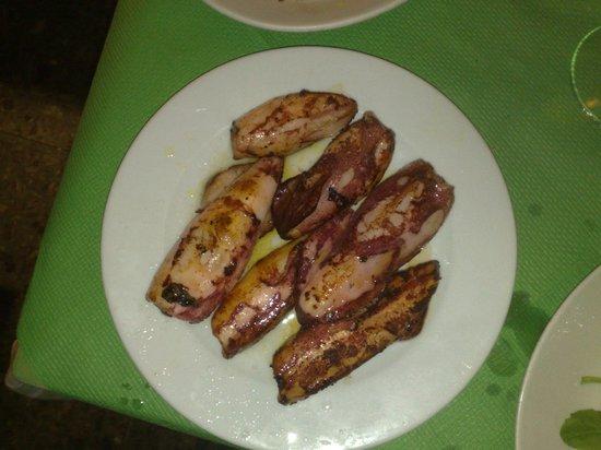Da Pippo Trattoria: Fried Squid (calamari fritti)