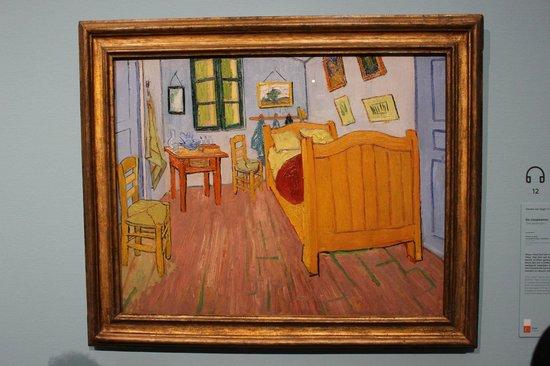 slaapkamer in het gele huis - Foto van Van Gogh Museum, Amsterdam ...