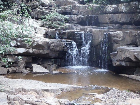 Kampong Speu, กัมพูชา: O Traw Sek Waterfall