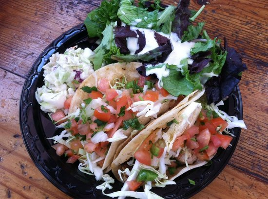 Captain Kidds Fish Market & Restaurant: Fish Tacos