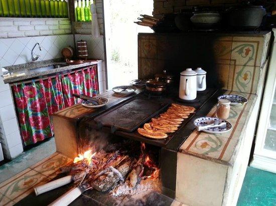 São Luís do Paraitinga, SP: Café da manha
