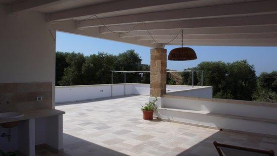 Agriturismo Masciarella: il terrazzo