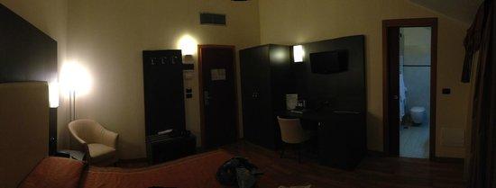 Hotel Ligabue: Camera vista 2