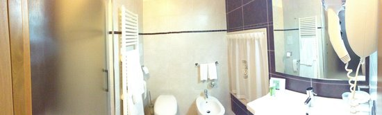 Hotel Ligabue: Bagno