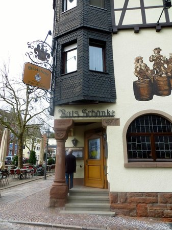 Ratsschänke - Picture of Hotel Rats Schanke, Frankenberg - TripAdvisor