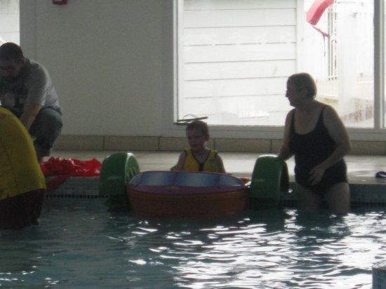 Presthaven Holiday Park: turbo padlers