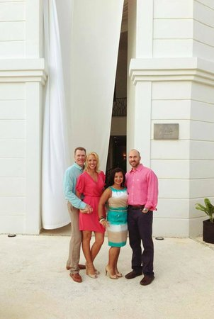 Excellence Riviera Cancun: Gorgeous spa entrance