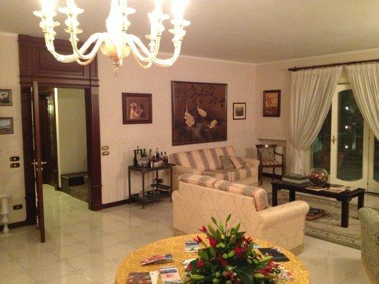 Villa Adriana Guesthouse Sorrento: Lounge area