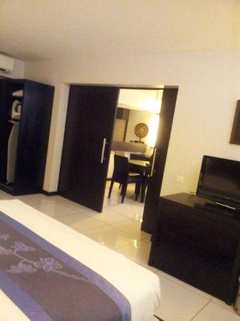 Hotel Tahiti Nui: Junior suite 312