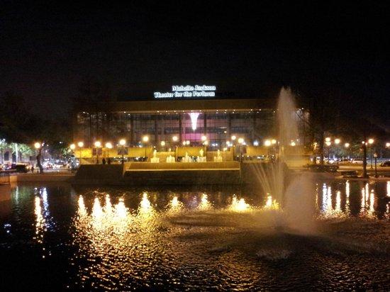 The Mahalia Jackson Theater of the Performing Arts: Night