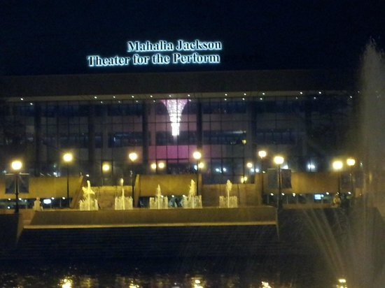 The Mahalia Jackson Theater of the Performing Arts: View from Armstrong Park