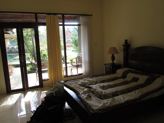 Ubud Permai Bungalow & Spa : Our room