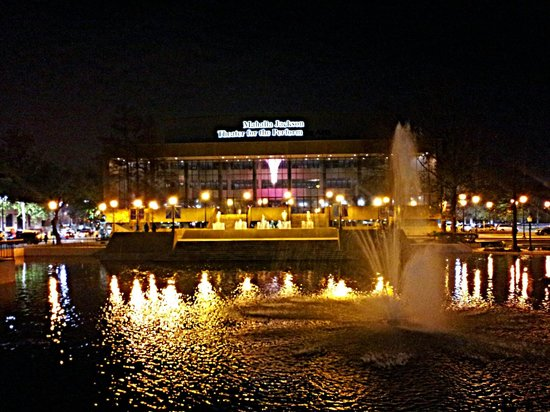 The Mahalia Jackson Theater of the Performing Arts: Fountain View