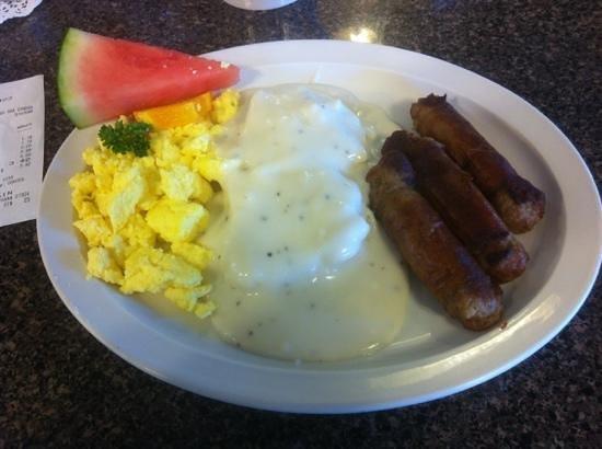 Dinner Bell Cafe: #1 breakfast, $6.99