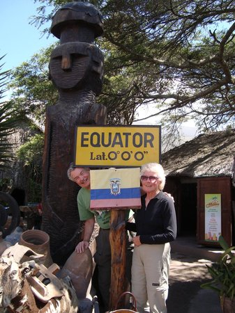 Mindo Cloud Forest Day Tours: Inty Ñan Museum at the Equator line