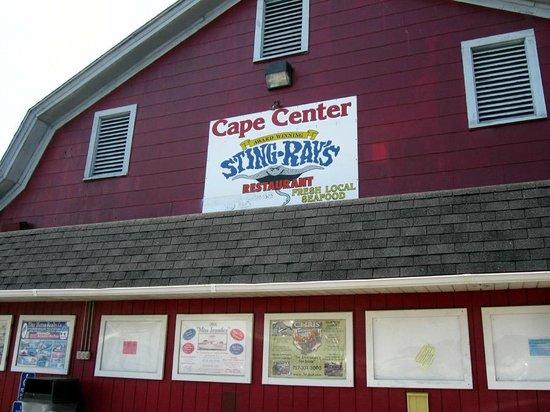 Sting-Ray's Restaurant : The restaurant