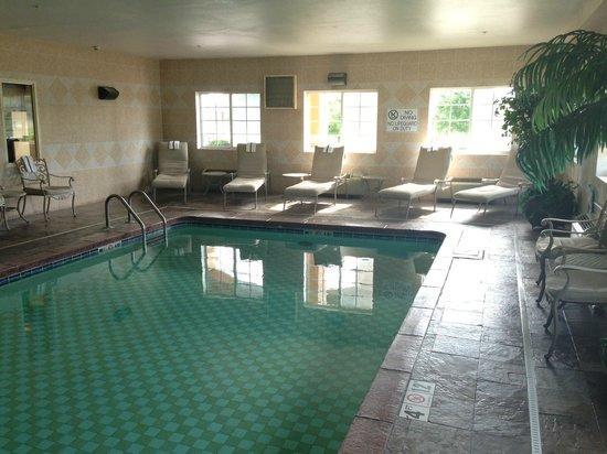 BEST WESTERN Manhattan Inn : Indoor Heated Pool